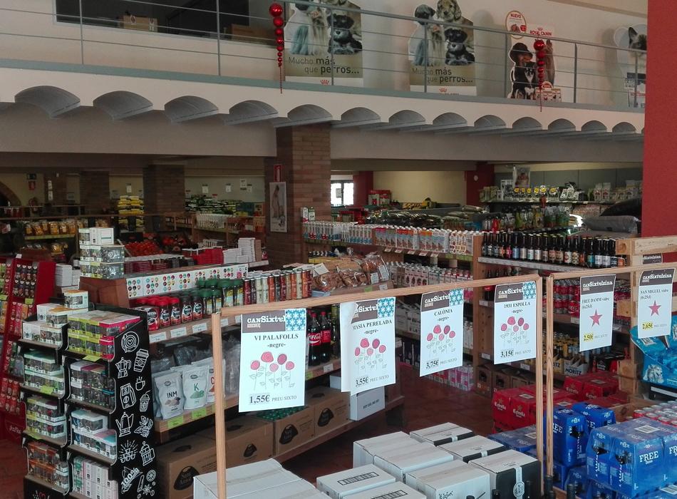 Can Sixte Alzina botiga